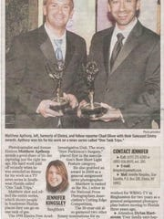 An article about Matthew Apthorp's success in a previous