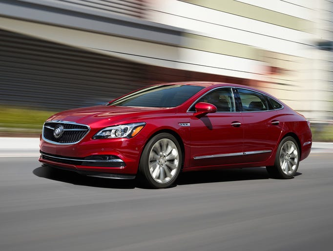 Buick Lacrosse 2017 >> GM weighs cutting six cars from its lineup