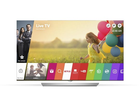 A Wi-Fi-enabled smart TV lets you access online content on your big screen, such as video streaming services, social media, photo galleries, music services, or on-demand news, weather and other personalized information.