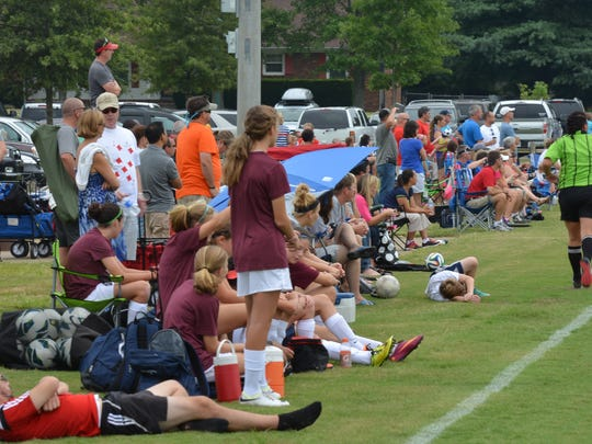 More than 200 teams from 12 different states competed in the third annual Tennessee Cup youth soccer tournament at Richard Siegel Soccer Complex Aug. 29-Sept. 1 but the Murfreesboro Soccer Club, which calls the park home, is not allowed to practice on the facility because of the field conditions.