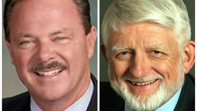 Incumbent Jim Lane and challenger Bob Littlefield are competing in a vicious battle for Scottsdale mayor.