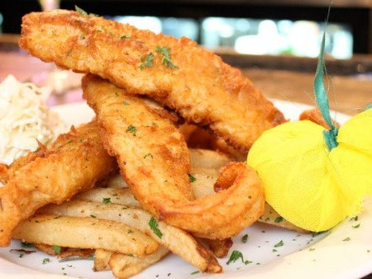 Fish and chips from Molly Maguire's.