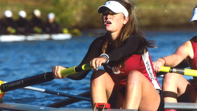 Concord High rower Georgia Vaughn is joining the La Salle University crew team next year.