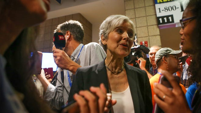 U.S. presidential candidate Jill Stein cites a study by a leading climate scientist that predicts a 2-meter or greater increase in sea levels as soon as 50 years from now.