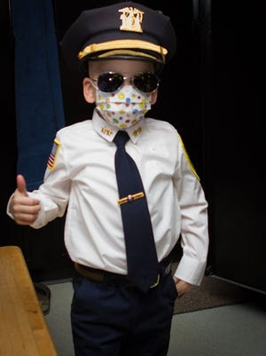 A day before cancer patient Giovani Toribio turned 5, he was Ossining police chief for the day.