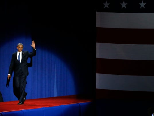 AP OBAMA FAREWELL ADDRESS A USA IL