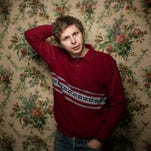 """This Jan. 18, 2013 file photo shows actor-singer Michael Cera at the 2013 Sundance Film Festival in Park City, Utah. Cera released an 18-song indie folk album """"True That,"""" on his Bandcamp website on Aug. 8 2014. """"It went largely overlooked until his acting buddy Jonah Hill tweeted a link Thursday, Aug. 14."""