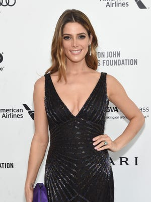 Ashley Greene is photographed at the 24th Annual Elton John AIDS Foundation's Oscar Viewing Party in West Hollywood.
