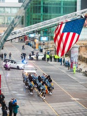 Fallen New Jersey State Trooper Frankie Williams' funeral