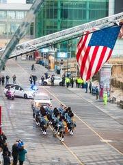 Fallen New Jersey State Trooper Frankie Williams' funeral