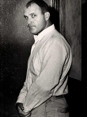 William Frederick Zimmer, shown here, was  sentenced to death in 1965 in Shawnee County. The sentence was later thrown out.