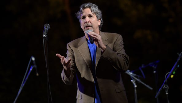 Director Peter Farrelly speaks onstage at The Charlotte