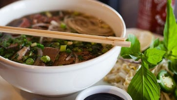 A bowl of pho at Young's Cafe in Fort Collins. The restaurant brought the popular beef noodle soup to town 30 years ago.