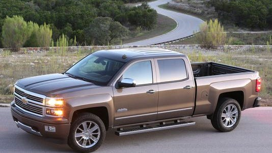 GM announced a new recall of 3 million vehicles worldwide, including 2.7 million in the U.S., for varoius problems. The new-design GM pickups, such as this 2014 Chevrolet Silverado, could have faulty tie rods that break and send the truck out of control.