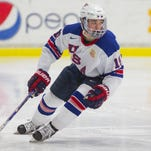 One of the U.S. NTDP players expected to be drafted during Friday's first round of the NHL Entry Draft is forward Clayton Keller.