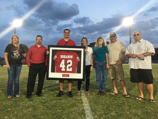 Tommy Bohanon jersey retired