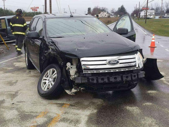 This SUV was also involved in the Dec. 17 accident