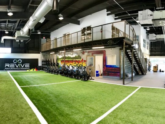 The newest high-end performance training facility for