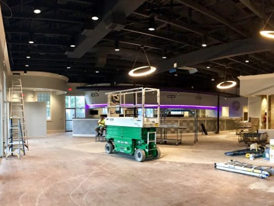 Renovations are underway to bring transform the space to fit the Drago's brand.