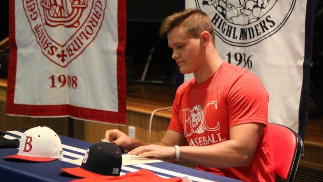 Carolina Day's Dalton Conley will play NAIA baseball next season