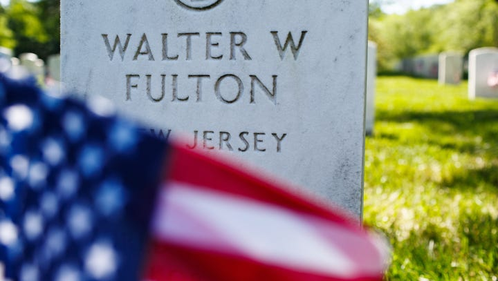 900 soldiers place 243k flags at Arlington National Cemetery ahead of Memorial Day