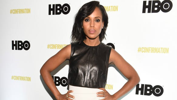 Actress Kerry Washington never disappoints.
