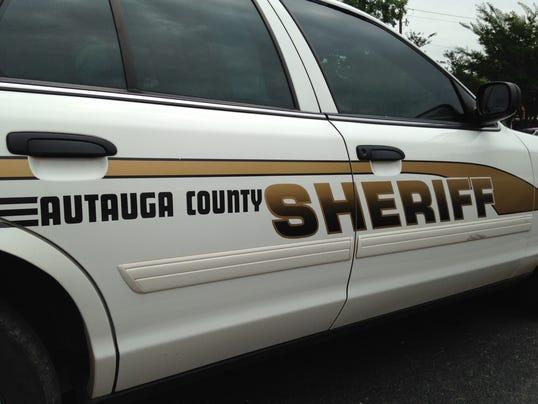 Autauga sheriff car
