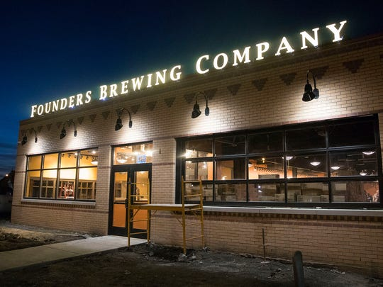 Founders Brewing Co. is set to open its Detroit taproom