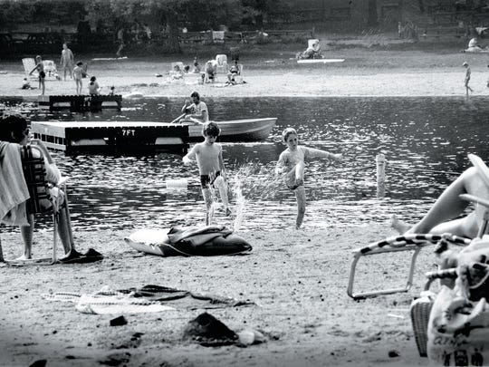 Crestwood Lake, Allendale, in 1970