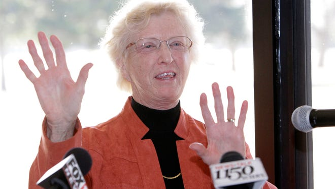 Mary Beth Nienhaus gifted the Winagamie Golf Course to the Appleton Education Foundation last year.