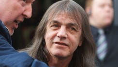 AC/DC band member Malcolm Young attends the Exclusive