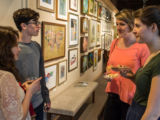 Fondren en Plein Air painters' day and wet canvas show will be at Brown's Fine Arts & Framing during Arts, Eats & Beats.