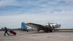 Out of nearly 13,000 B-17s produced, Cook said, fewer