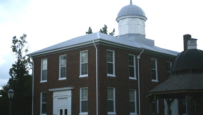 The Dickson County Courthouse.