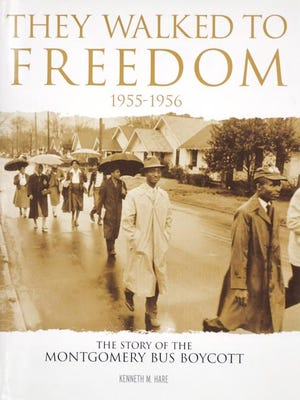 """The design work of Patrick Armstrong was recognized for """"They Walk To Freedom,"""" a reprint of the book produced earlier by the Advertiser."""