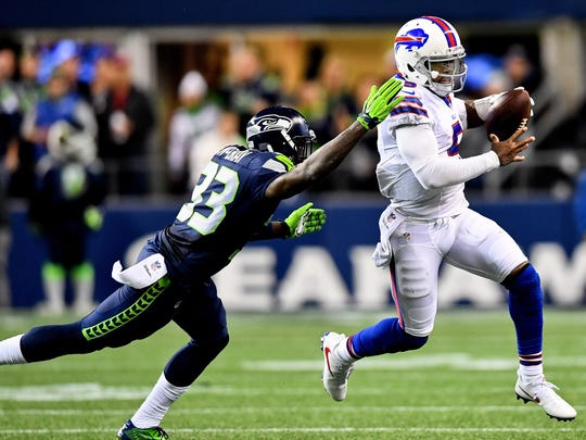 Tyrod Taylor's best game of the season came in the loss at Seattle, but since then, he has had three straight flat performances.