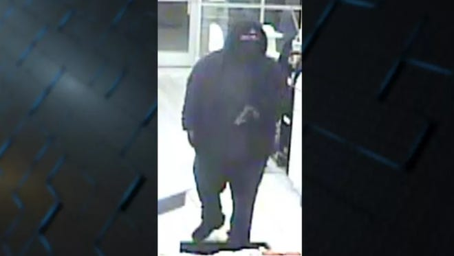 The Clermont County Sheriff's Office is looking for a suspect they say robbed a UDF at gunpoint in Stonelick Township early Saturday morning.
