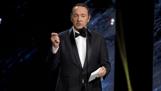 Kevin Spacey at the BAFTA Los Angeles Britannia Awards at in Beverly Hills, on Oct. 27, 2017.