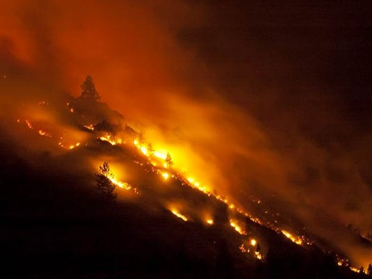 Oregon Wildfires_Hill
