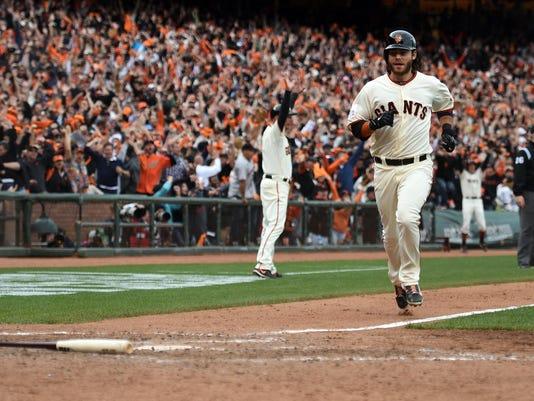 USP MLB: NLCS-ST. LOUIS CARDINALS AT SAN FRANCISCO S [BBA OR BBN] USA CA