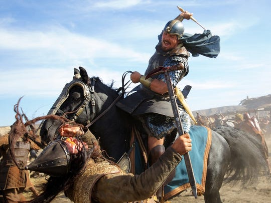 """Christian Bale in a scene from """"Exodus: Gods and Kings."""""""