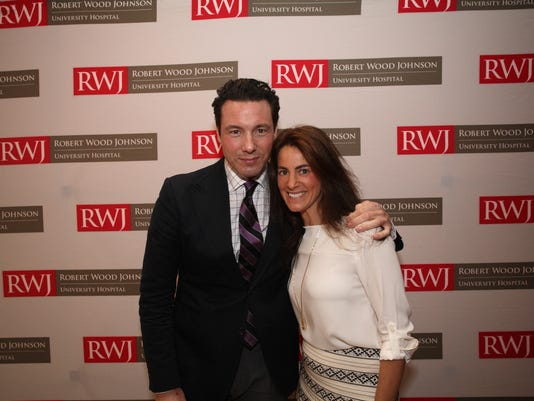 Rocco DiSpirito and Susan Best