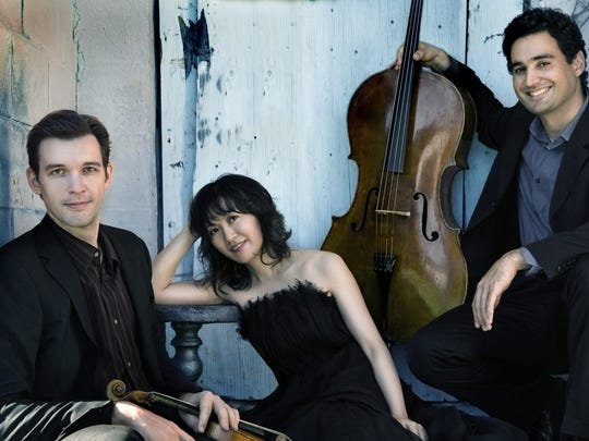 The Horszowski Trio performs Sunday at the Howland Center in Beacon. Part of the series presented by the Howland Chamber Music Circle.