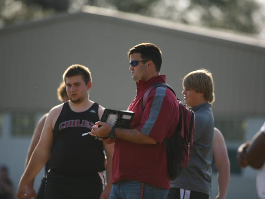 Chiles throws coach Philip Browning is now the interim head coach, replacing Scott Gowan, who'd built a state-champion track and cross country power but was relieved of his coaching duties following a Leon County Schools review of his professional behavior.