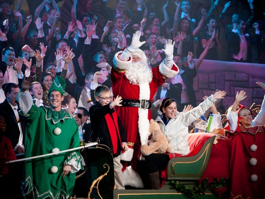 Purdue Music Organizations present the famed Purdue Christmas Show.
