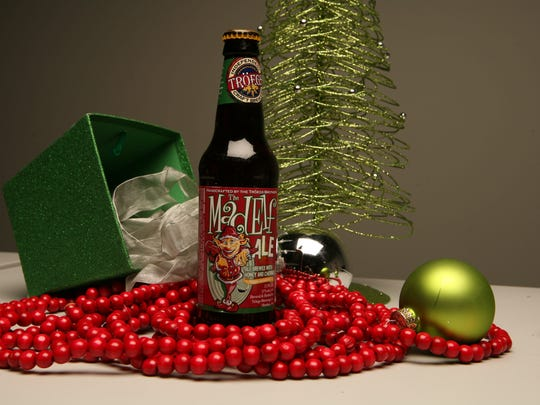 Mad Elf Ale from Troegs is a holiday classic made with plenty of cherries and honey.