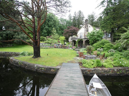 There is such a sense of privacy at Susan Chitwood's Depression-era home for sale on Lake Woodrock in Cortlandt.