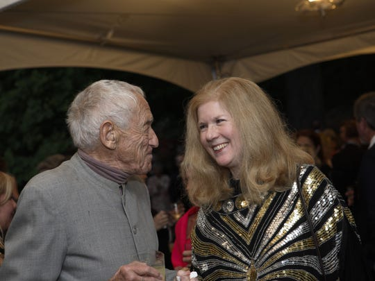 UD arts conservator Joyce Hill Stoner on a date with the late Andrew Wyeth