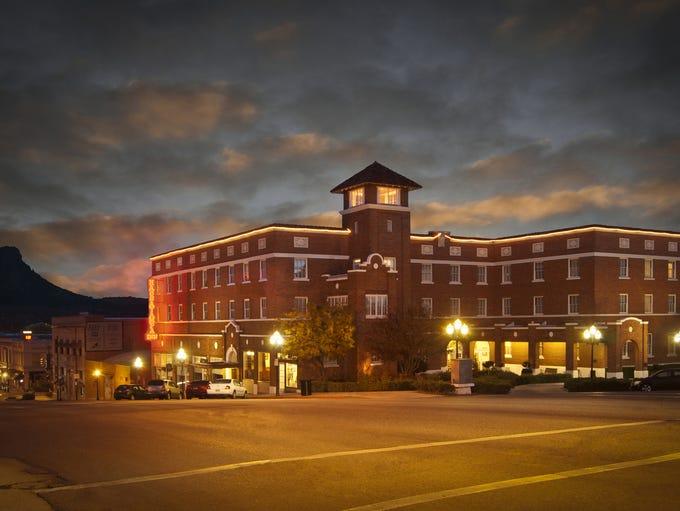 The Hassayampa Inn in Prescott was designed by architect