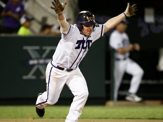 AP NCAA Sienna TCU Baseball